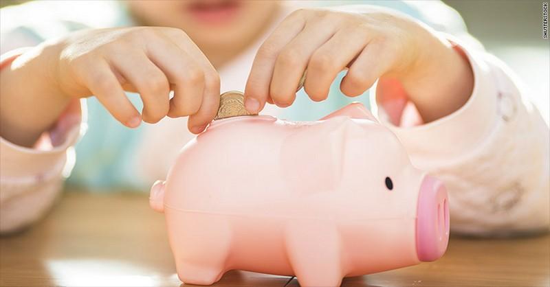 Najlepší spôsob, ako naučiť deti narábať s peniazmi